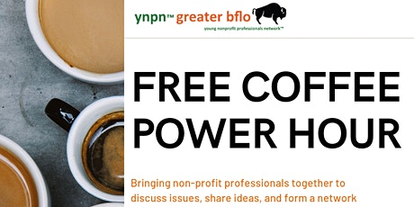 YNPN July Coffee Power Hour (Virtual Event) tickets