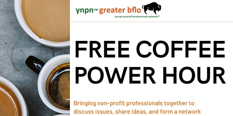 YNPN August Coffee Power Hour (Virtual Event) tickets