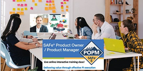 Certified SAFe® 5.0 POPM training (6 evening  sessions in November 2020). tickets