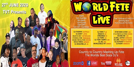 World Fete Live tickets