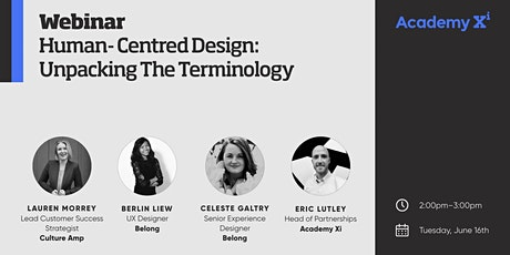 Human-Centred Design: Unpacking the Terminology tickets