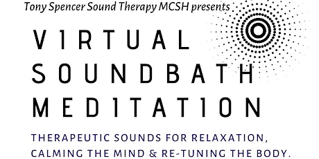 Virtual Sound Bath Meditation tickets
