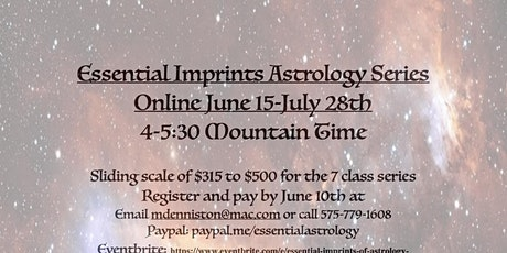 Essential Imprints of Astrology tickets