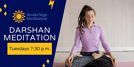 Darshan Meditation tickets