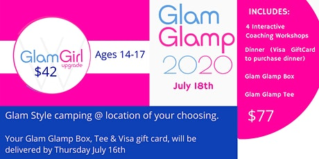 Glam Glamping 2020 tickets
