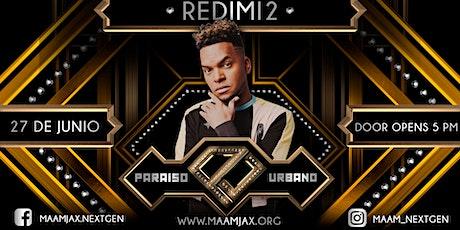 PARAÍSO URBANO ft REDIMI2 y Banda tickets