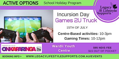 Games2U Activity Day tickets