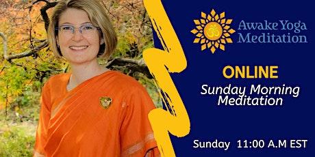 Sunday Morning Meditation tickets