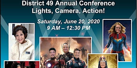 SAVE the date -- District 49 Virtual Conference -- Saturday, June 20, 2020 tickets