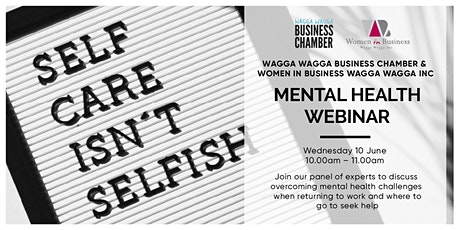 Mental Health Webinar - How to manage your mental health through covid-19 tickets