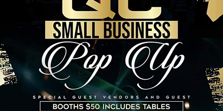 QC Small Business Pop UP weekend tickets