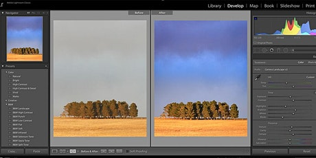 Adobe Lightroom Classic for Beginners tickets