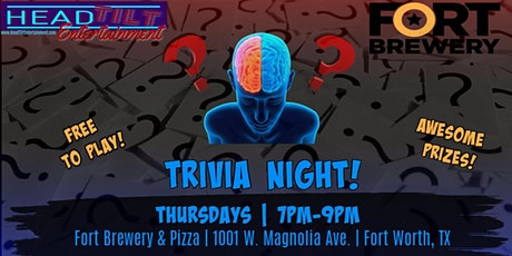 Trivia Night at Fort Brewery & Pizza- Fort Worth tickets