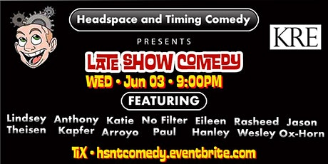 Headspace and Timing Comedy Show tickets