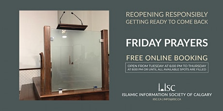 Friday prayers at 12:30 PM tickets