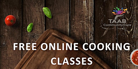 COOKING TOGETHER « FOOD LOVERS » FREE ONLINE COOKING WORKSHOP tickets