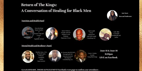 The Return of The Kings: A Conversation of Healing for Black Men tickets