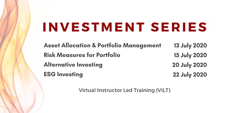 Investment Series - Virtual Instructor Led Training tickets