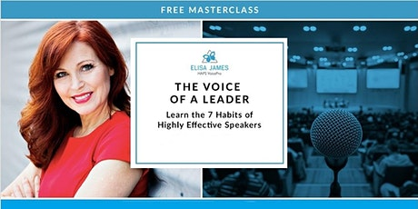 The Voice of a Leader - Public Speaker Training (Free Webinar) tickets