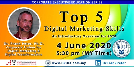 The Top 5 Digital Marketing Skills - An Introductory Overview for 2020 tickets