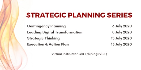 Strategic Planning Series - Virtual Instructor Led Training tickets
