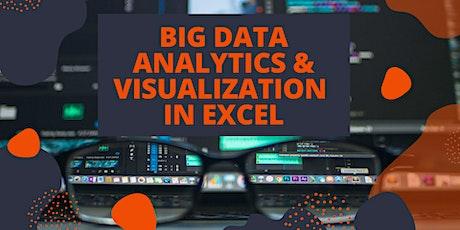 Big Data Analytics & Visualization in Excel tickets