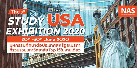 The 3rd Study USA Exhibition 20th -30th June 2020 tickets