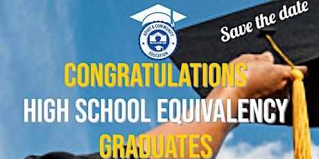 SAISD High School Equivalency Class of 2020 Graduation tickets