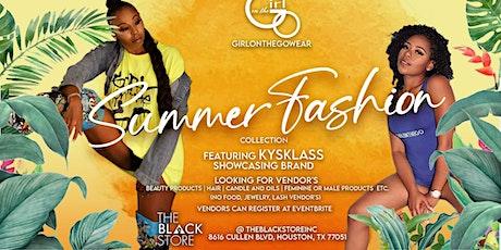 GIRLONTHEGOWEAR SUMMER FASHION COLLECTION feat. KYSKLASS showcasing brand! tickets