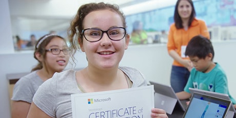 FREE Virtual Microsoft Summer Camp for Children Ages 6+ tickets