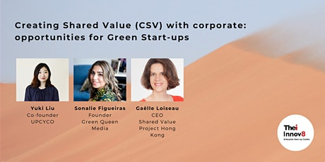 Creating Shared Value (CSV) with corporate: opportunities for Green Startup tickets