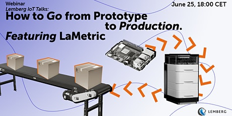 Lemberg IoT Talks:  How to Go from Prototype to Production. Feat. LaMetric tickets