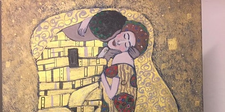 Sip and Paint, 'The Kiss' tribute to Gustav Klimt tickets