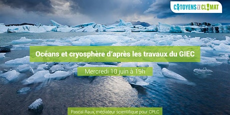 Conférence : Océans, Cryosphère, Climat. billets