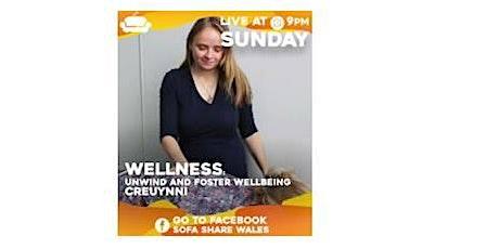 Wellness Workshop for @SofaShareWales Livestream tickets