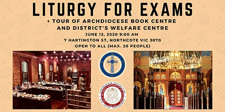 Liturgy for Exams tickets