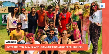 Unterrichten im Ausland - sammle einmalige Erfahrungen | mit aiesec Tickets
