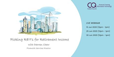 Picking REITs for Retirement Income tickets