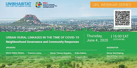 Urban-Rural Linkages in the Time of COVID-19: Neighbourhood Governance tickets