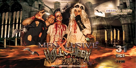 MenXclusive | Halloween Dress Up Party tickets
