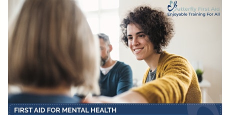 Level 2 in First Aid For Mental Health (lunch)(distant option) tickets