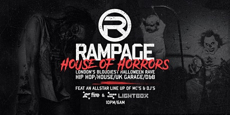 Rampage Sound Halloween House of Horrors ft Crazy Cousinz & DJ Pied Piper tickets
