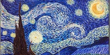 Van Gogh Starry Night - Plucka's Art Studio (June 21 1.30pm) tickets