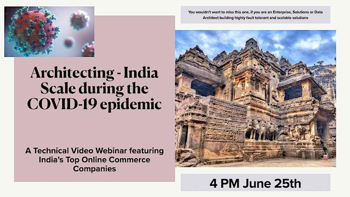 Architecting - India Scale during the  COVID-19 epidemic image