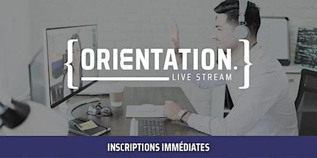 Livestream Orientation MScPro billets