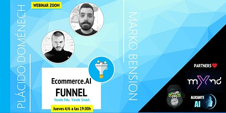 ECOMMERCE.AI : Funnel. Vende más. Vende Smart. tickets