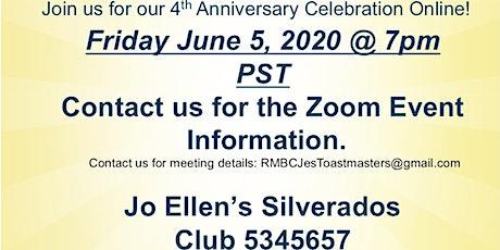 Public Speaking  - Toastmasters Club MTG on ZOOM tickets