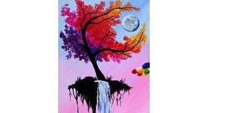 The Waterfall Tree Paint Night For All Ages, Only 15 Spots $20 tickets