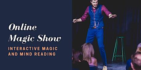 Zoom Magic Show tickets