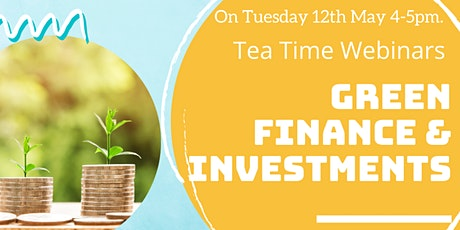 Green Finance & Investments tickets